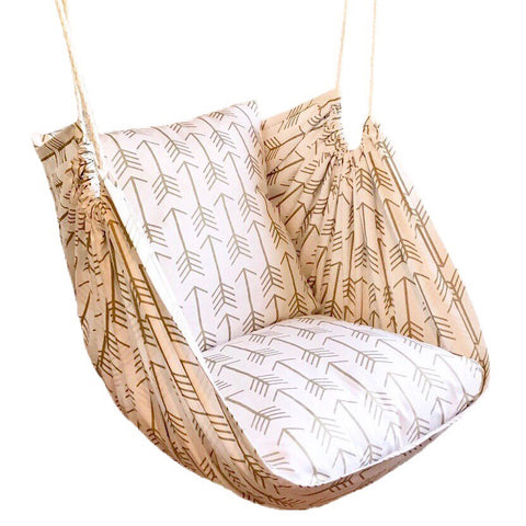 Arrow Print Hammock Chair Swing - Urban Collective
