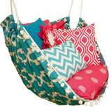 Apache Blue & Candy Pink Hammock Chair - Urban Collective