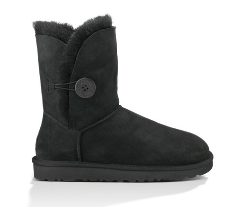 UGG Womens Bailey Button II Black