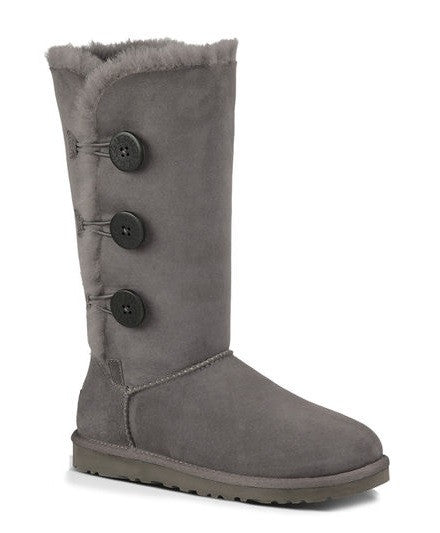 UGG Womens Bailey Button Triplet Grey
