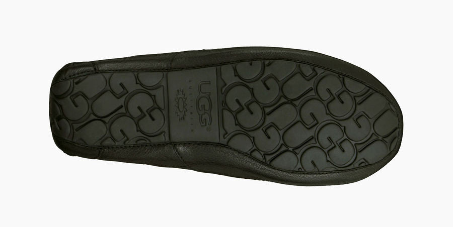 UGG Mens Ascot Leather Black