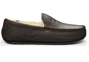UGG Mens Ascot Leather China Tea