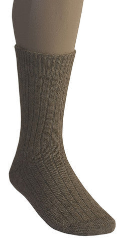 McDonald Possum Merino Rib Socks Mocha