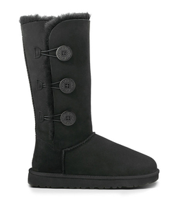 UGG Womens Bailey Button Triplet Black