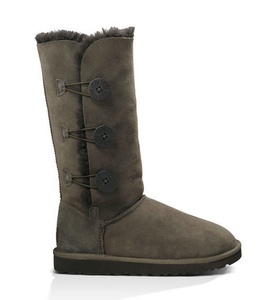 UGG Womens Bailey Button Triplet Chocolate