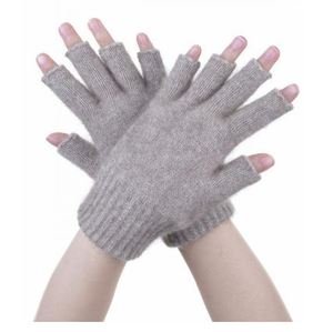 McDonald Possum Merino Open Finger Gloves Mocha
