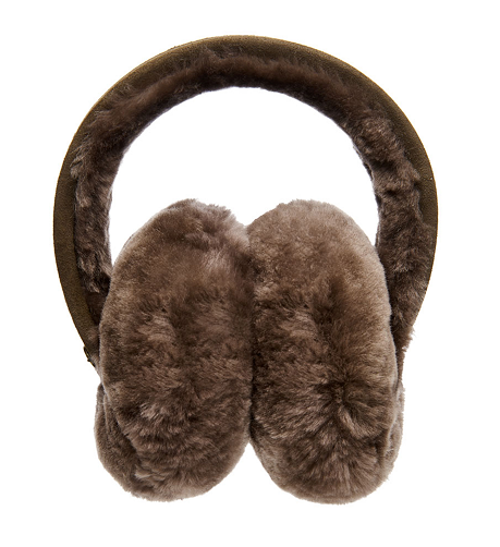 EMU Australia Angahook Ear Muffs Chocolate