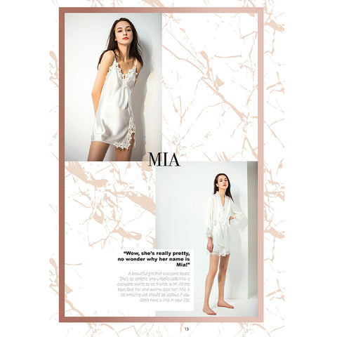 19/20 NEW COLLECTION—《Mia》 英国高端内衣品牌Lier Adore 加拿大独家授权销售!