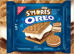 Receive a FREE bag of Oreo S'Mores Cookies (303g) with your order today.