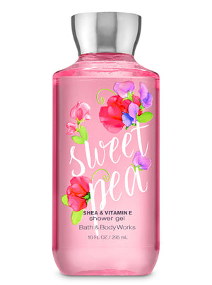 Bath & Body Works Shower Gel - Sweet Pea (295ml)