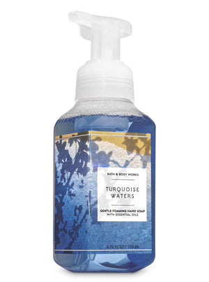 Bath & Body Works Foaming Hand Soap - Turquoise Waters  (259ml)