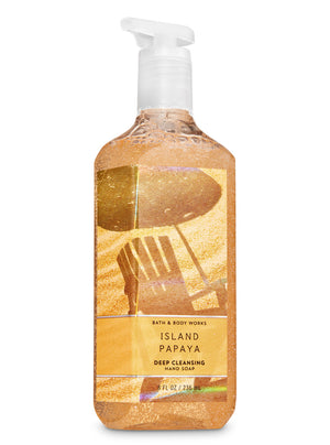 Bath & Body Works Deep Cleansing Soap - Island Papaya  (239ml)