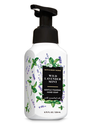 Bath & Body Works Foaming Hand Soap - Wild Lavender Mint  (259ml)