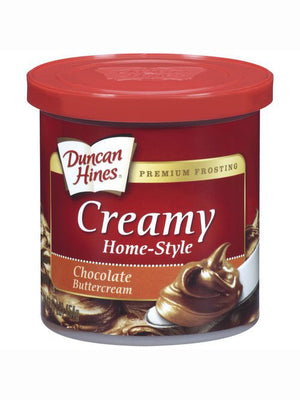 Duncan Hines Chocolate Buttercream Creamy Home-Style Frosting (454g)