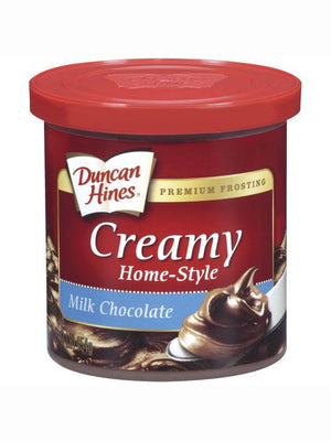 Duncan Hines Creamy Homestyle Milk Chocolate Frosting (454g)