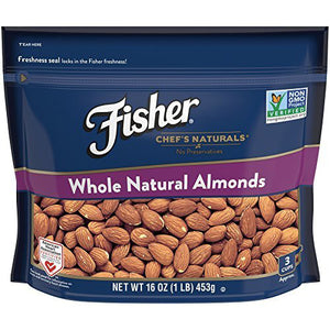 Fischer Chef's Naturals Almonds Whole (454g)
