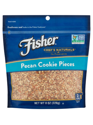 Fischer Chef's Naturals Pecan Cookie Pieces (227g)