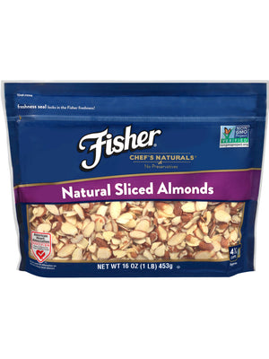 Fischer Chef's Naturals Almonds Sliced (454g)