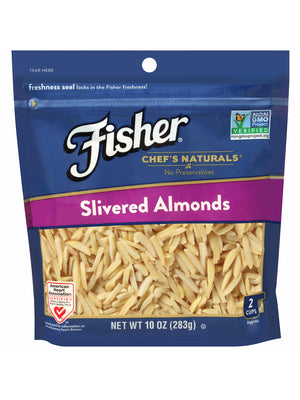 Fischer Chef's Naturals Almonds Slivered (284g)
