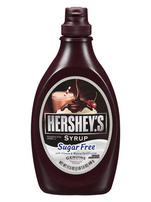 Hershey's Low Calorie Sugar Free Vitamin & Mineral Fortified Chocolate Syrup (496g)