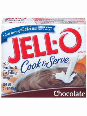 Jell-O Chocolate Cook & Serve Pudding & Pie Filling (96g)