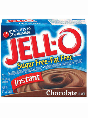 Jell-O Chocolate Instant Pudding & Pie Filling (60g)