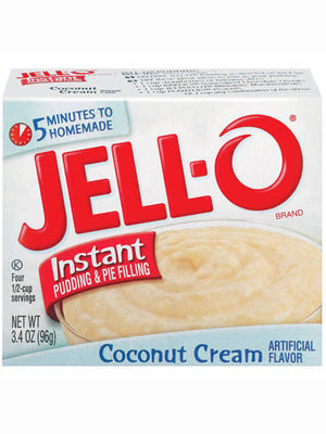 Jell-O Coconut Cream Instant Pudding & Pie Filling (96g)