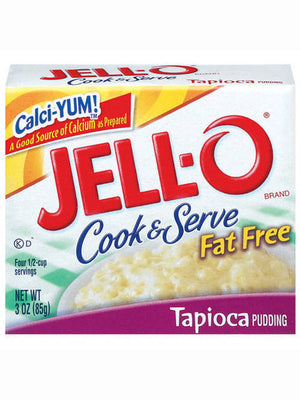 Jell-O Fat Free Tapioca Cook & Serve Pudding (85g)