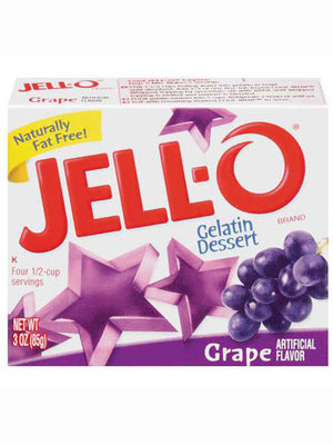 Jell-O Grape Gelatin Dessert (85g)