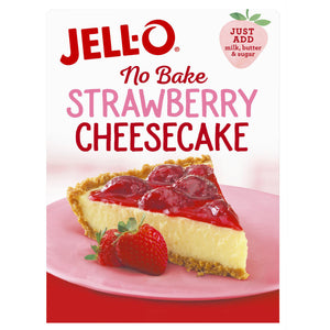 Jell-O No Bake Strawberry Cheesecake Dessert Mix (556g)