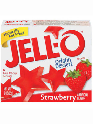 Jell-O Strawberry Gelatin Dessert (85g)