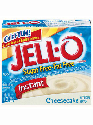Jell-O Sugar Free & Fat Free Cheesecake Instant Pudding & Pie Filling (28g)