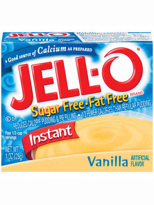 Jell-O Sugar Free & Fat Free Vanilla Instant Pudding & Pie Filling (28g)