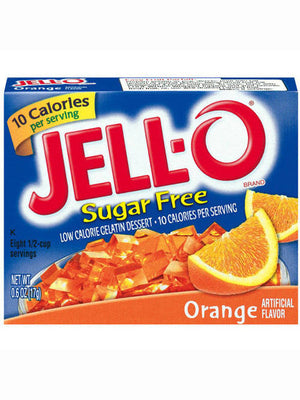 Jell-O Sugar Free Low Calorie Orange Gelatin Dessert (17g)