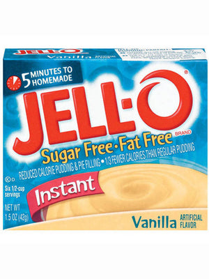 Jell-O Sugar-Free Vanilla Instant Pudding & Pie Filling (43g)