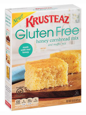 Krusteaz Gluten Free Honey Cornbread and Muffin Mix (425g)