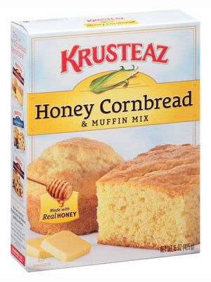 Krusteaz Honey Cornbread & Muffin Mix (425g)