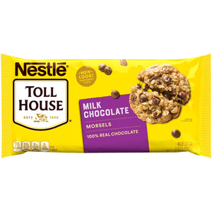 Nestlé Toll House Milk Chocolate Morsels (652g)