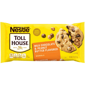 Nestlé Toll House Peanut Butter & Milk Chocolate Morsels (312g)
