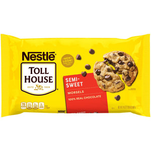 Nestlé Toll House Real Semi-Sweet Chocolate Morsels (680g)