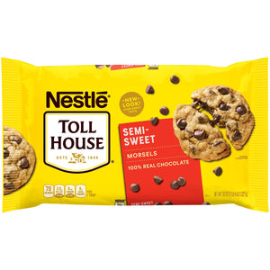 Nestlé Toll House Semi Sweet Baking Chocolate Chips (1,021g)