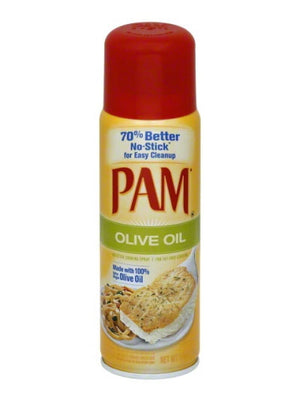 Pam Organic Olive Oil Cooking Spray (142g)