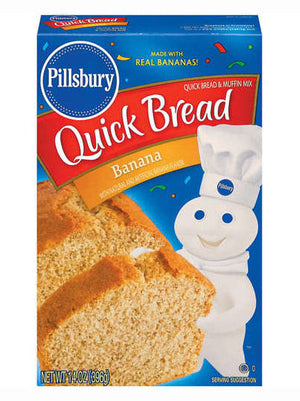Pillsbury Banana Quick Bread & Muffin Mix (397g)