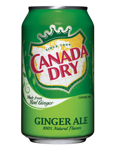 Canada Dry Ginger Ale (12x355ml)