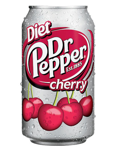 Dr Pepper Diet Cherry Soda (12x355ml)