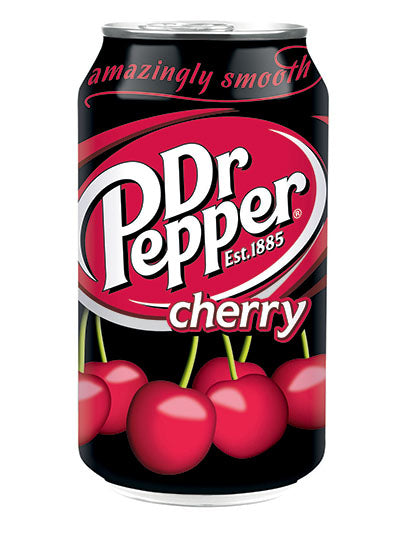 Dr Pepper Cherry Soda (12x355ml)