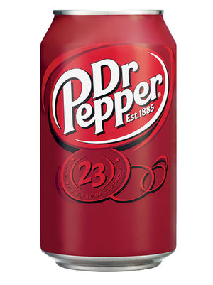 Dr Pepper Soda (12x355ml)