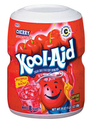 Kool-Aid Cherry Drink Mix (539g)