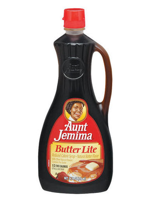 Aunt Jemima Butter Lite Reduced Calorie Syrup (680g)