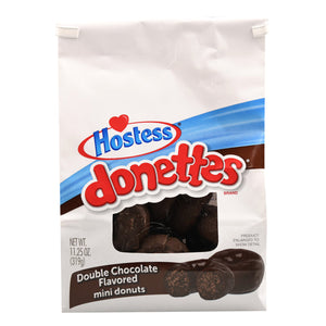 Hostess Donettes Double Chocolate Mini Donuts (319g)